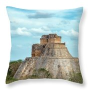 House Of The Magician Throw Pillow