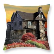 House On The Hill Throw Pillow