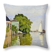 Houses On The Achterzaan Throw Pillow