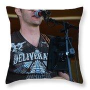Houston At The Fair Throw Pillow