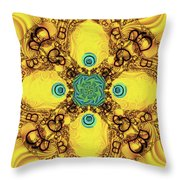 How Many Bs Do You See? Throw Pillow
