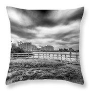 Hudson Beach Throw Pillow