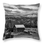 Hudson Valley Ny Fall Colors Throw Pillow