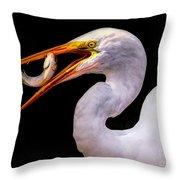 Huge Fish Throw Pillow