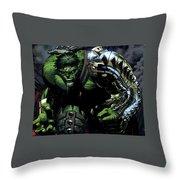 Hulk Throw Pillow