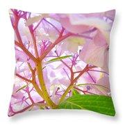 Hydrangeas Flowers Art Prints Hydrangea Art Giclee Baslee Troutman Throw Pillow