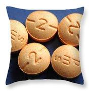 Hydromorphone 2 Mg Tablets Throw Pillow