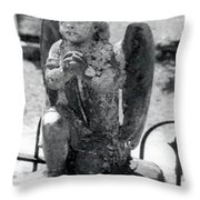 I Pray My Lord My Soul To Keep Throw Pillow