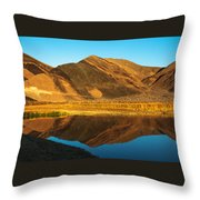 Ibex Hills Reflection Throw Pillow