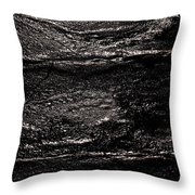 Ice Texture Abstract Throw Pillow