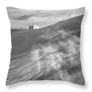 Iceland Winter Throw Pillow