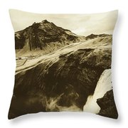 Icelandic Magic Throw Pillow