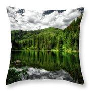 Idyllic Colorado Throw Pillow