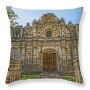 Iglesia San Jose El Viejo - Antigua Guatemala Hdr Throw Pillow