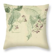 Impatiens Throw Pillow