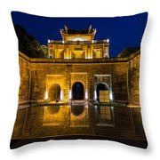 Imperial Citadel Of Hanoi Throw Pillow