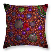 Impossible Odds Throw Pillow