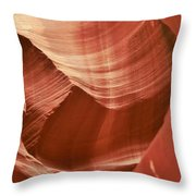 Impressions Of Antelope Canyon 1 Throw Pillow