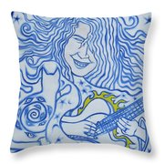 In Celebration Of Michael Throw Pillow