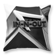 In-n-out Throw Pillow