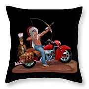 Indian Forever Throw Pillow