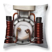 Inductors Throw Pillow
