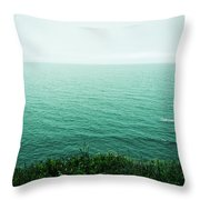 Infinite Sea Throw Pillow