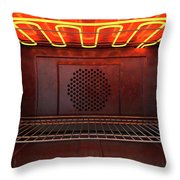 Inside The Oven Front Throw Pillow
