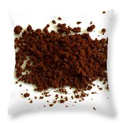 Instant Decaf Coffee Throw Pillow