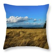 Into The Grasslands. Throw Pillow