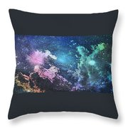 Into The Great Wide Open Throw Pillow