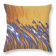 Inverted Reflection Abstract 233 Throw Pillow
