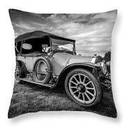 Iris Tourer 1912 Throw Pillow