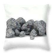 Iron Ore Nugget Collection Throw Pillow
