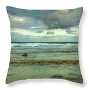 Isla De Mujeras North Shore Throw Pillow