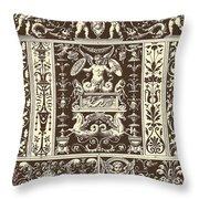 Italian Renaissance Throw Pillow