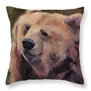 It's Good To Be A Bear Throw Pillow