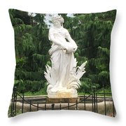 Ivory Lady Throw Pillow