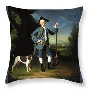 Jacob Morland Of Capplethwaite Throw Pillow