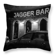 Jagger Bar In Ufa Russia Throw Pillow