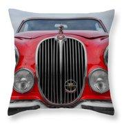 Jaguar Mark 2 Throw Pillow