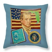 James Monroe Throw Pillow