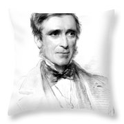 James Paget, English Surgeon Throw Pillow