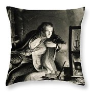 James Watt, Scottish Inventor Throw Pillow