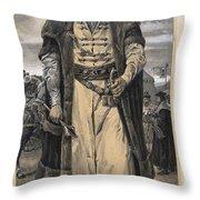 Jan Zizka Of The Chalice Throw Pillow