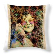 Janis Joplin Throw Pillow