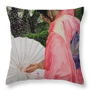 Japanese Based Throw Pillow