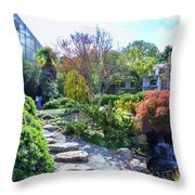 Japanese Garden 3 Throw Pillow