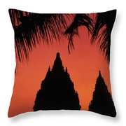 Java, Prambanan Throw Pillow