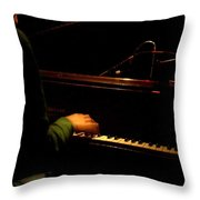 Jazz Estate 8 Throw Pillow